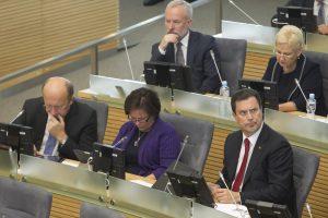 Opozicijos vietos slaptų pažymų komisijoje tuščios neliks