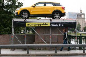 """""""Projektas"""" ant Žaliojo tilto: reklamos kaina – tūkstantis eurų"""