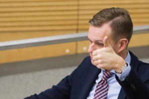 Seimas dirbs be opozicijos lyderio