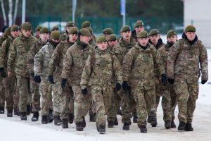 Lietuva žada NATO batalioną perkelti į statomą bazę Vilniuje