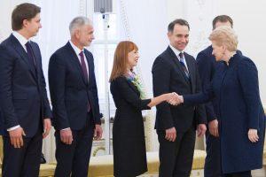 Prezidentė svarbiausiu prioritetu laiko švietimo sistemos reformą