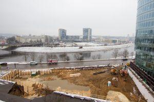 Vilniuje atsivėrė smegduobė, vilniečiai prašomi nenaudoti vandens