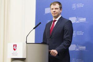 Finansų ministras nepalaiko mokesčių konsolidavimo