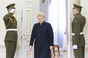 D. Grybauskaitė pagerbs buvusio Vokietijos kanclerio H. Kohlio atminimą