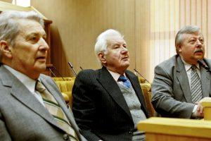 Signatarų rentos – A. Norvilui, J. Pangoniui ir  V. Beriozovo našlei