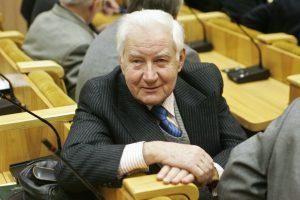 Netektis: mirė signataras L. Šepetys