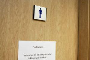 Vilniaus savivaldybės darbuotojai nenori tualetų su neutraliu ženklinimu