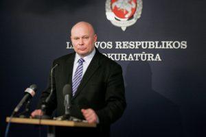 Generalinės prokuratūros Vidaus tyrimų skyriui vadovaus R. Petrauskas