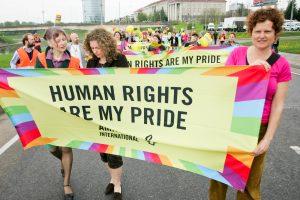 Vilniuje bus apdovanoti seksualinių mažumų teisių gynėjai