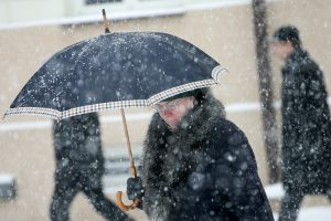 Orai: Lietuvą užgrius kritulių lavina