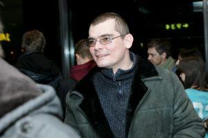 """Per filmo """"Zero III"""" pristatymą prie Seimo skambėjo politiniai šūkiai"""