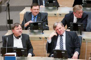 Kai kurie parlamentarai per rudens sesiją neištarė nė žodžio