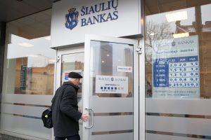 Šiaulių banko pelnas sumenko 26 proc. – iki 15,2 mln. eurų