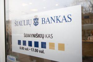 """Šiaulių bankas prašo leidimo įsigyti """"Finastą"""""""