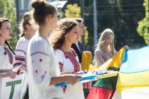Lietuva tikisi pritraukti gabių ukrainiečių studentų