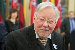 Jubiliejų V. Landsbergis pasitiko ligoninėje