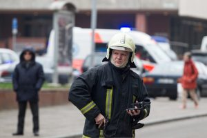 Vilniuje – aliarmas dėl įtartino lagamino prie Vyriausybės rūmų