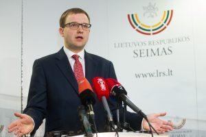 V. Gapšys atsisako Seimo nario mandato