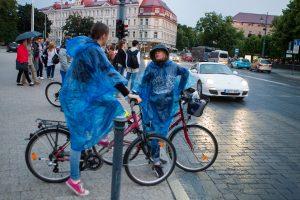 Šventinė diena ir savaitgalis – su lietumi bei perkūnija