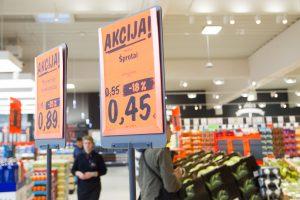Apklausa: lietuviai tarp ES gyventojų labiausiai sunerimę dėl kainų augimo
