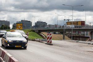 Vilniuje ties naują gatvę: sujungs vakarinį aplinkkelį ir Ukmergės gatvę