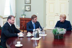 R. Karbauskis: turime absoliutų prezidentės pasitikėjimą