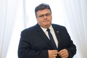L. Linkevičius skirtingų frakcijų politikus ragina vienyti jėgas dėl Astravo AE
