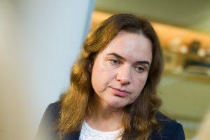 Į kontrolieres pasiūlyta M. Vainiutė aiškinosi prieš Seimą