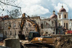 Teismas nesustabdė statybų prie Misionierių vienuolyno
