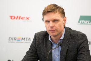 E. Jankauskas: pralaimėjome pelnytai ir nebėgame nuo atsakomybės