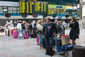 Ką daryti, jei jūsų skrydis buvo atšauktas, vėlavo ar neatvyko?
