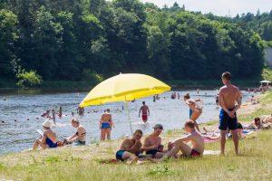 Vilniaus rajono maudyklų vandens kokybė – puiki