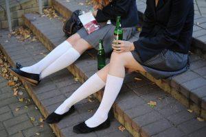 Į ligoninę papuolė alkoholiu apsinuodijęs trylikametis