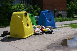 Lietuviai rūšiuoja nenoriai: specialius konteinerius pasiekia vos 5 proc. atliekų