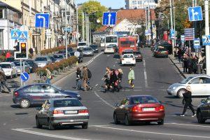 Kalvarijų ir V. Gerulaičio gatvių sankryžoje – eismo ribojimai