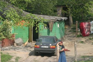 Vilniaus romų tabore grius nelegalūs pastatai
