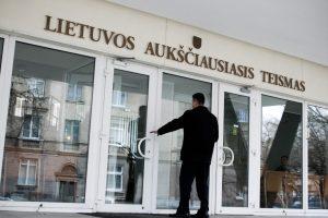 Teisėjų taryba pritarė Aukščiausiojo Teismo teisėjo V. Aiduko atleidimui