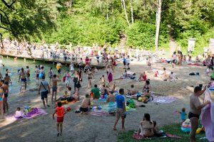 Vasarosiantiems sostinėje – net devyni paplūdimiai