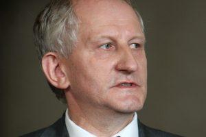 Atleistas Seimo kancleris J. Milerius