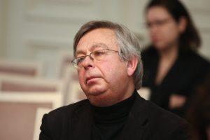 Architektui S. Juškiui skirta valstybinė pensija