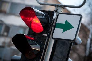 Keičiasi šviesoforinis eismo reguliavimas ties Antakalnio poliklinika