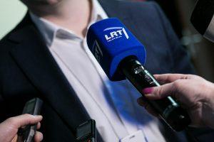 A. Nekrošius apie LRT: buvo lengvas chaosas