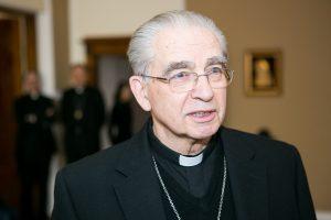 Kardinolas A. J. Bačkis švenčia 80-metį
