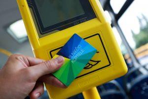 Vilniuje buvo sutrikusi viešojo transporto bilietų platinimo veikla