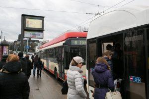 Nuo lapkričio 19-osios – sklandžiau dirbantis viešasis transportas