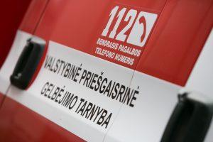 Vilniaus senamiestyje užsidegė namas, evakuoti gyventojai