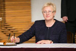 Ūkio viceministrė Ukrainoje aptaria šalių bendradarbiavimą