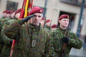 Savaitgalį – Krašto apsaugos savanorių pajėgų 25-ečio minėjimas