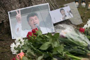 Vilniuje atidaromas rusų opozicionieriaus B. Nemcovo skveras