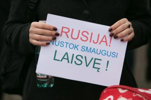 ES vadovus paragino didinti spaudimą Rusijai dėl politinių kalinių